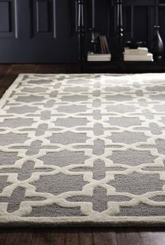 Update your living room space with the Cheshire Rug from the Home Decorators Collection.