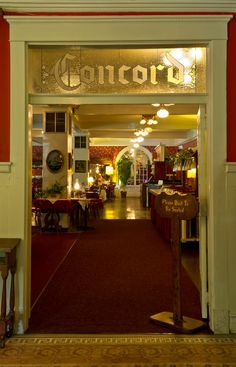 Concord Dinging Room at The Riverside Inn, Cambridge Springs PA