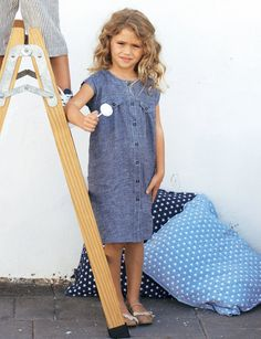 Little Girl's BurdaStyle Shirt-Dress 04/2012