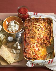 Classic Cheese Lasagna #recipes #food