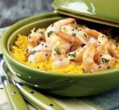 Yellow Rice with Shrimp