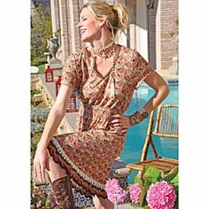 tracy porter dress and boots