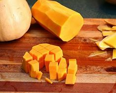 How to cube a butternut squash