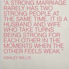 strong marriages