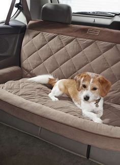 Keeps your car clean and your pet comfortable during any road trip.