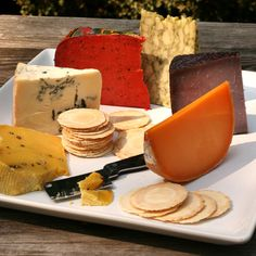 A Rainbow of Colorful Cheeses now featured on Fab.