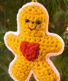 Gingerbread Boy with Heart