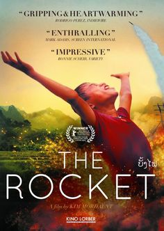 A boy who is believed to bring bad luck leads his family (and a couple of ragged misfits) through Laos to find a new home. After a calamity-filled journey through a land scarred by war, the boy builds a giant rocket to prove he's not cursed and to enter the most lucrative but dangerous competition of the year: a rocket festival.  Lao, 92 min.  http://highlandpark.bibliocommons.com/search?utf8=%E2%9C%93&t=smart&search_category=keyword&q=rocket+lao&commit=Search