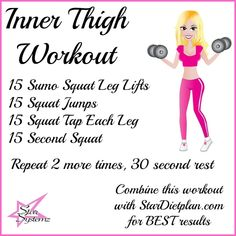 thigh workouts, inner thigh