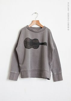 Bobo Choses a/w 2013 Guitar Sweatshirt