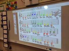 The Journey of an Elementary Music Teacher: Fun with Boomwhackers and Treble Clef Frisbee - Good to build note reading abilities!