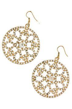 """Christy's Crystal Ornament Earrings"""