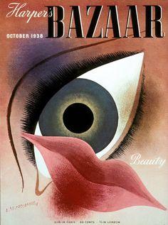 Magazine: Harpers Bazaar | Art Director: Alexey Brodovitch