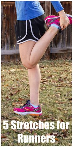 5 Stretches for Runn