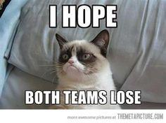 Tard hates both teams.