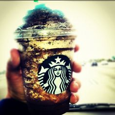 New mocha cookie crumble frapp