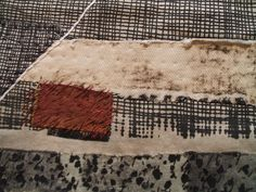 'Meeting Place' by Dorothy Caldwell, detail. by Cathy Park, via Flickr