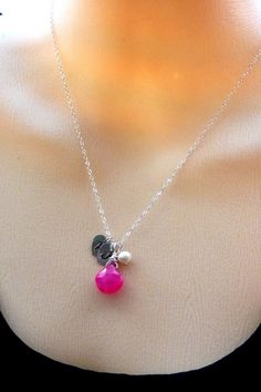 Bridesmaid gifts - grown up BFF necklaces