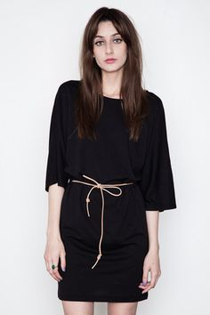 Minimarket - Black Issa Belted Dress