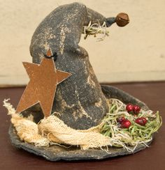 Primitive Stuffed Witch Hat - Craft Wholesalers --