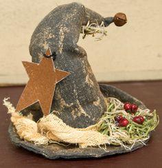 Primitive Stuffed Witch Hat - Craft Wholesalers --
