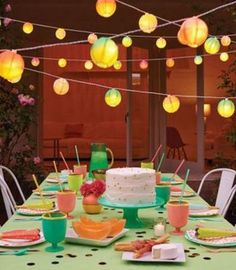 design partnership, event idea, eventparti idea, anni parti, target parti, string light, entertain, lanterns, hadley parti