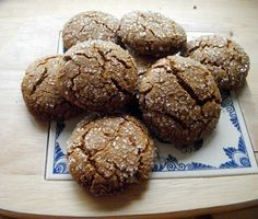 Molasses Crinkles - Christmas Baking Staple