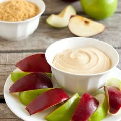 Caramel Cheesecake Apple Dip - 3 ingredients made in under 3 minutes!