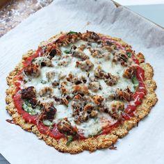 Flax & Hemp Pizza Crust