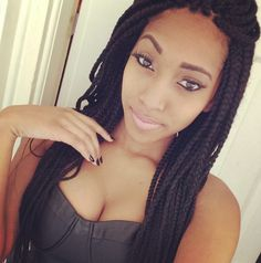 Love her braids !!