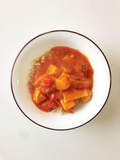 Crock Pot Red Curry Chicken