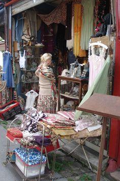 "Paris Flea Market................I'll  follow and carry the ""finds""."