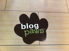 BlogPaws paw prints were all over the conference.
