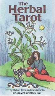 #pagan #wicca #witchcraft #celtic #druid #tarot Herbal Tarot by Tierra/ Cantin $18.00