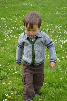 #crochet kids sweater - free pattern