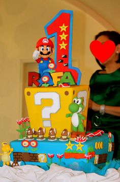 Great cake idea! Love all the characters!