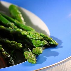 Asparagus is a traditional Spring vegetable that often appears on the Passover Seder table. This particular variation is simple to prepare, yet looks  quite elegant.