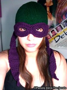 Teenage Mutant Ninja Turtles Convertible Beanie!