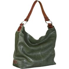Woolrich Sadie Hobo Leather Bag ($149) ❤ liked on Polyvore