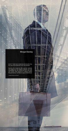 Morgan Stanley: Briefcase #print #ad
