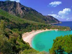 Samos island,Megalo seitani beach-Greece