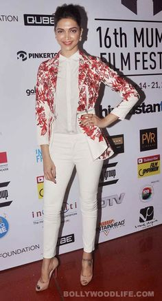 Deepika casts her vote and attends MAMI in Varun Bahl!  #Deepika