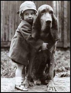 Hugging a hound