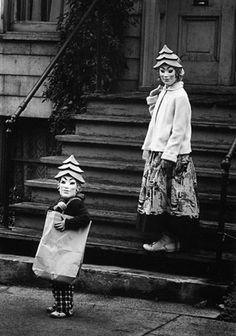 Halloween, Chicago, 1950 by Yasuhiro Ishimoto.
