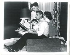 Jeff Chandler and wife Marjorie with their children
