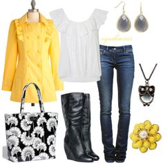 """""""Hello Yellow"""" by cynthia335 on Polyvore"""