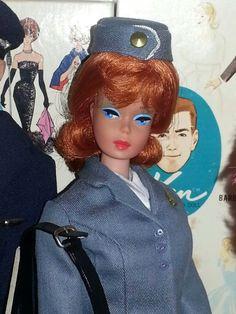 Fashion Queen as Flight Attendant