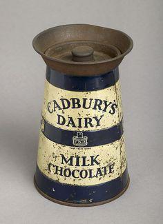 Tin of Cadbury Dairy Milk Chocolate
