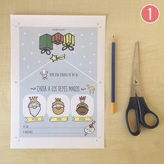 Descagable gratuito! Una Carta Super Mágica para los Reyes Magos. - Pometa Maca | Accesorios y regalos para bebés