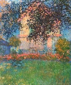 The Artist's House in Argenteuil - Claude Monet